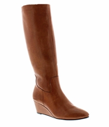 Rose Petals Summer2 Extra Wide Calf Wedge Boot (Luggage) - FINAL SALE