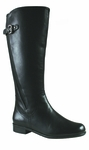 Rose Petals Taylor Super Plus Wide Calf Boot (Black)