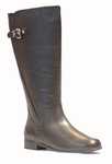Rose Petals Taylor Super Plus Wide Calf&reg Boot (Brown)