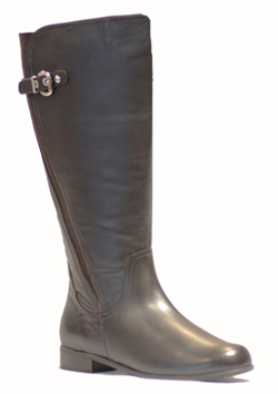 Rose Petals Taylor Super Wide Calf� Boots (Brown)