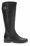 Rose Petals Taylor Super Wide Calf™ Boot (Black)
