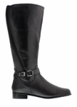 Rose Petals Women's Kylie Extra Wide Calf (Black)