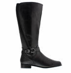 Rose Petals Women's Kylie Super Wide Calf� Boot (Black)