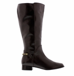 Rose Petals Women's Piper Super Plus Wide Calf� Boot (Brown)