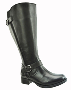 Tori Women's Super/Super Plus Wide Calf® Leather Ridng Boot ON SALE!  (Black)