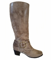 Walking Cradles®  Aryn Extra Wide Calf Boot (Sage)