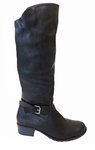 Women's Bella Wide Calf Boot (Black)