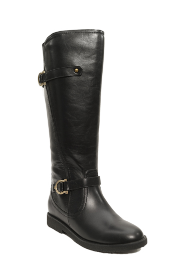 s wide calf boot black clearance