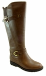 Women's Cassie Extra Wide Calf Boot (Brown)
