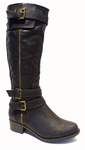 Women's Emerson Extra Wide Calf Boot (Brown)