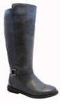 Women's Heidi Extra Wide Calf Boot (Black)