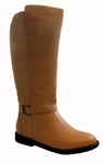 Women's Heidi Extra Wide Calf Boot (Tan)
