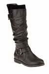Women's Mountain Wide Calf Boot (Black)