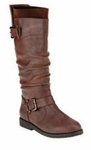 Women's Mountain Wide Calf Boot (Brown)