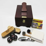 "Shoe Shine Kit <font color=""ff0000"">Free Shipping--Continental USA</font>"