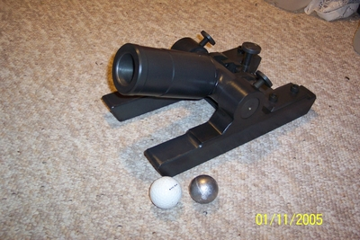 Homemade Cannon/Mortar