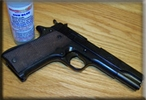 Star 9mm Handgun After Gun Blue