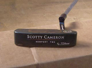 The Scotty Cameron Putter Intro then Gun Blue Prep