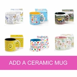 Add a Ceramic Mug to your Custom Gift Basket