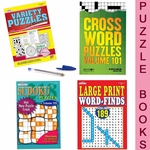 Add a Puzzle Book to your Gift Basket