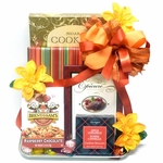 Book and Desserts Gourmet Gift Basket