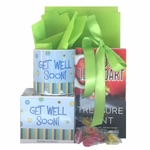 Get Well Soon Book and Mug Set