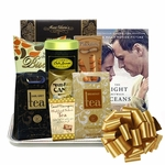 Delightful Book and Teas Gift Tray