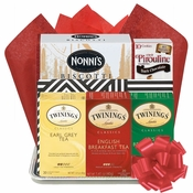 Book and Teas Gift Basket