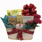 Molto Bene Gift Basket with Book