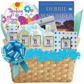 Happy Feet Spa Gift Basket with Book
