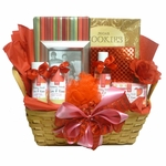 LOVE Bath and Body Gift Basket with Book