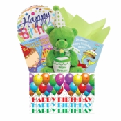 First Birthday Baby Gift Basket