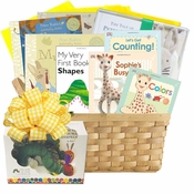 First Library Baby Books Gift Basket