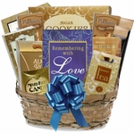 Remembering With Love Sympathy Gift Basket