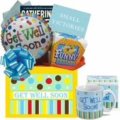 Get Well Gift Box with Books