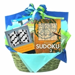 Puzzle Books Get Well Gift Basket