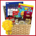 Puzzle Books Gift Basket