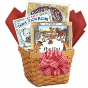 Jan Brett Baby Books Basket