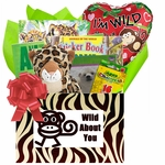 Animals Books and Games Kids Gift Box