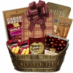 Mystery Book Lovers Gift Basket