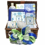 Snowflakes Bath and Body Gift Basket