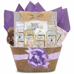 Honey Almond Bath and Body Basket