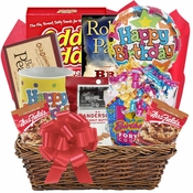 Deluxe Birthday Basket with Book