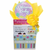 Welcome New Baby Gift Box