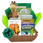 Wild for Baby Gift Basket