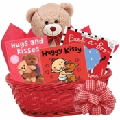 Hugs and Kisses Baby Gift Basket