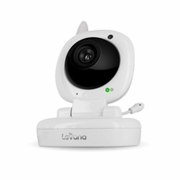 Additional Night Vision Camera for Levana Jena� Sophia� Ayden� Video Baby Monitor with Invisible LEDs Temperature Monitoring, Talk to Baby� Two-way Intercom and Zoom<!--32112-->