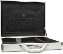 Aluminum Notebook Laptop Computer Travel Briefcase Executive Attache