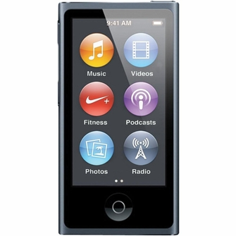 Apple iPod nano 16GB Slate (7th Generation) Newest Model - MD481LL/A<!--MD481LLA-->