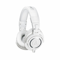 Audio Technica Professional Monitor Headphones for Audio Engineering, DJ Monitoring, and Personal Listening (ATH-M50xWH)<!--ATHM50XWH-->